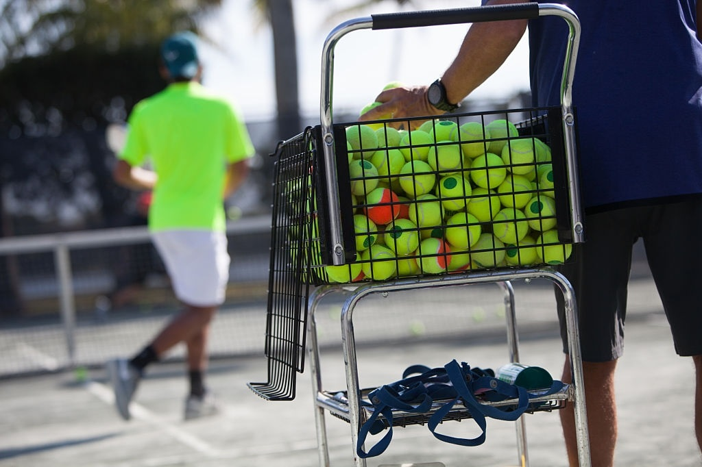 Best Tennis Ball Hoppers With Wheels