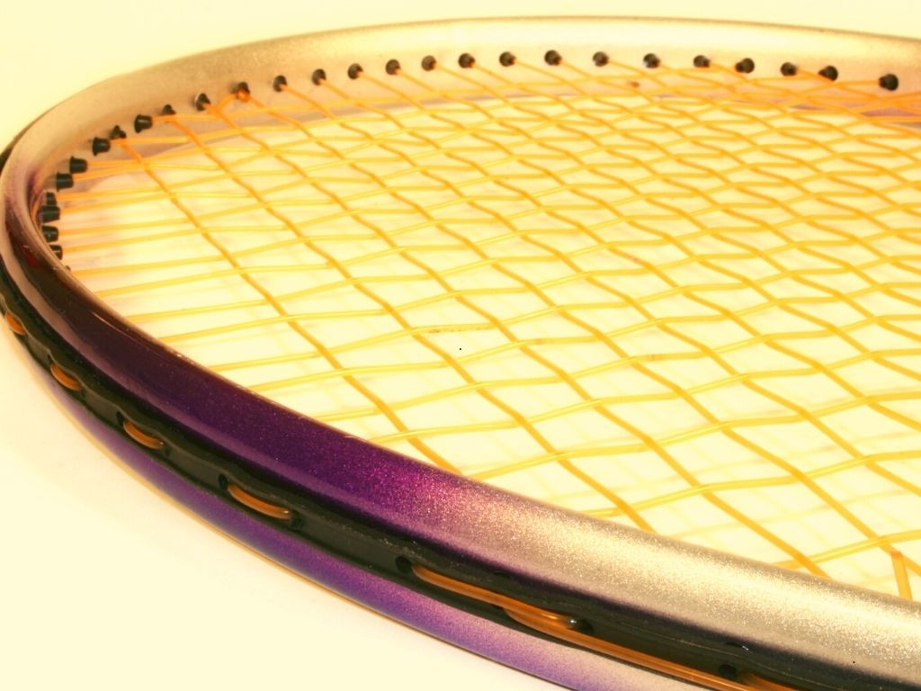 Parts of a tennis racket - grommets