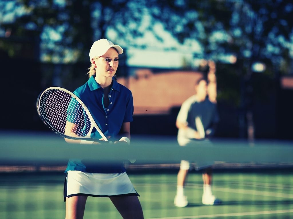 how to play tennis doubles